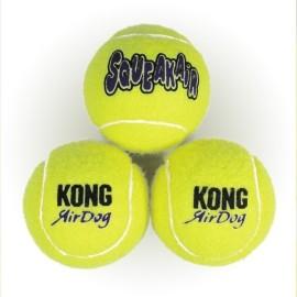 KONG AirDog Squeakair Ball (piszcząca piłka tenisowa)