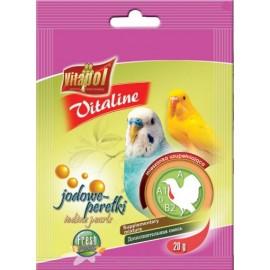 Vitaline dla papużki falistej Jodowe perełki