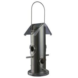 Metalowy podajnik karmy dla ptaków