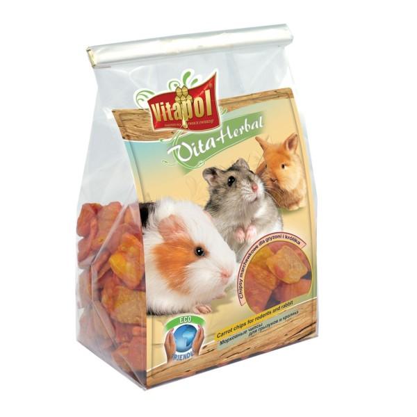 Vitaherbal Chipsy marchewkowe dla gryzoni