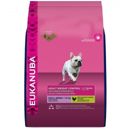 Karma EUKANUBA Adult Weight Control Small Breed (kurczak)