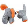 Pluszak pies/słoń z liną