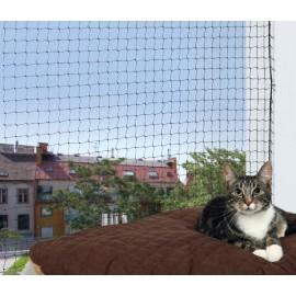 SIATKA ochronna do okien/balkonów, czarna