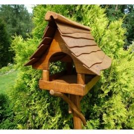 Dębowy karmniczek dla ptaków
