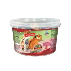 Vitapol Pokarm 2w1 owocowo-warzywny dla świnki morskiej w wiaderku