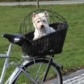Wiklinowy KOSZ na bagażnik roweru