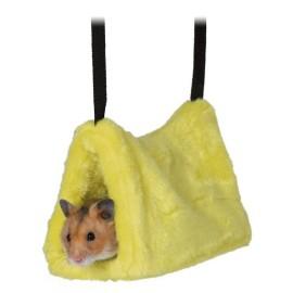 Pluszowa jaskinia dla chomika lub myszy