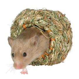 Gniazdo z trawy dla myszy i chomików